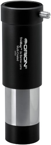 Orion 08704 Tri-Mag 1 25-Inch 3x Barlow Lens BlackB0000XMWQW : image