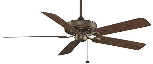 Fanimation Tf971Az Edgewood Deluxe Wet Location 5-Blade Ceiling Fan, 60-Inch, Aged Bronze