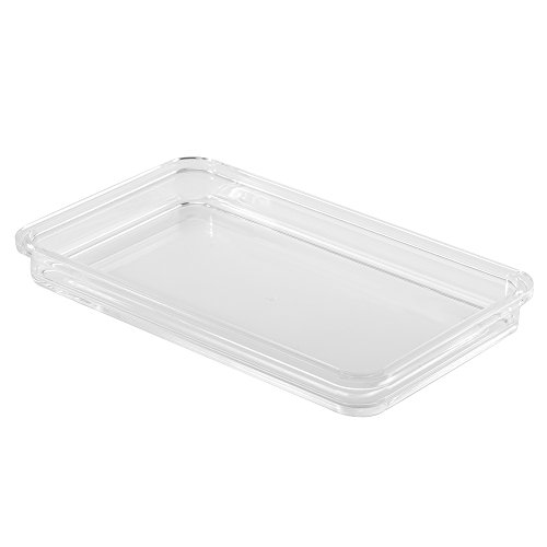 InterDesign 39880 Clarity Guest Towel Tray, Clear (Tray Holder compare prices)