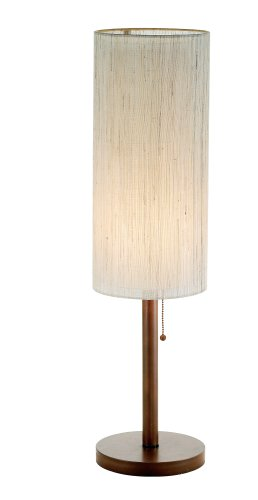 Adesso Hamptons Table Lamp, Walnut