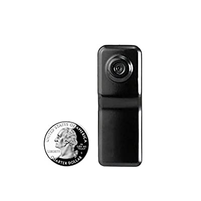 8GB Mini DV Digital Video Camera Recorder Hidden Camera Alloy Housing Sound Activated 250HR Standby (1Year Guarantee)