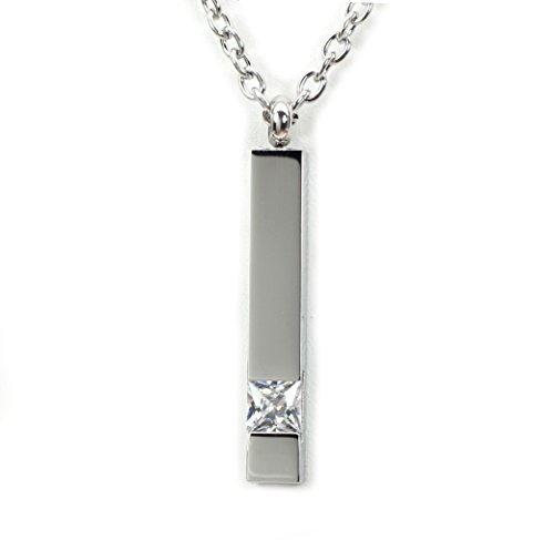 Diamond Cube Premium Stainless Steel Pendant