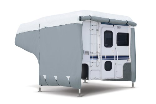 Classic Accessories OverDrive PolyPRO 3 Deluxe Camper Cover, Fits 8' - 10' Campers - Max Weather Protection with 3-Ply Poly Fabric Roof RV Cover (80-036-143101-00) (Campers compare prices)