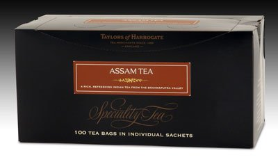 Taylors of Harrogate Assam Tea - String and Tag 100ct.