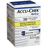 Accu Chek Aviva Plus Test Strips - Box Of 50