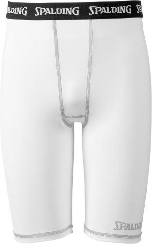 Spalding, Pantaloni & Pantaloni corti Funktions, Bianco (weiß), M