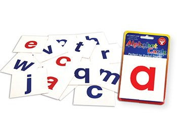Hygloss Products Inc. HYG61493 Alphabet Cards A-Z Lower Case Letters