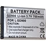 GVAccessories Replacement LG Battery GD900 Crystal
