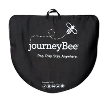 Parentlab JourneyBee Portable Crib Travel Case, Black (Discontinued by Manufacturer) - 1