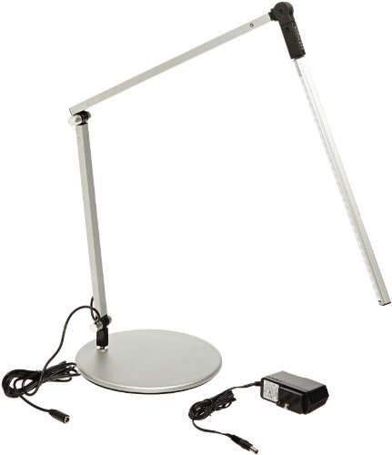 Koncept Ar3100-W-Sil-Dsk Z-Bar Mini Led Desk Lamp, Warm Light, Silver