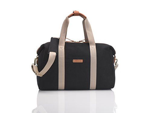 Storksak Diaper Tote Bags, Bailey Black