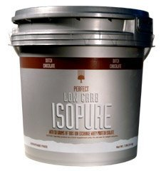 Nature's Best Zero Carb Isopure, Strawberries and Cream, 7.5-Pound Tub