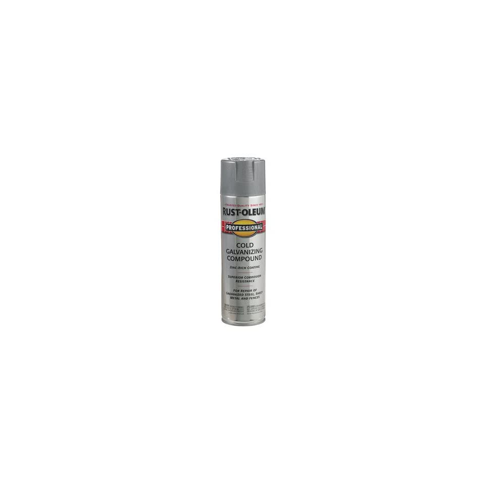 20 Oz Gray Cold Galvanizing Compound Spray Paint 7584 838 on