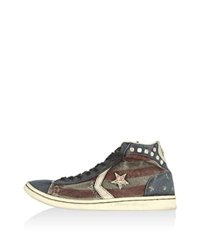 Converse Sneaker Pro Lea Lp Mid Limited blau