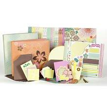 S.E.I. 12-Inch by 12-Inch 1 Hour Album Scrapbook Kit, Jocelyn