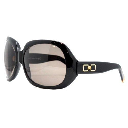 Dsquared2 Women'S Dq0019 Resin Sunglasses,Black Frame/Roviex Lens,One Size