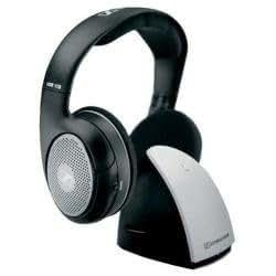 Sennheiser RS 110-EU - Auriculares de diadema cerrados, negro y plateado