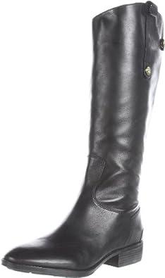 Sam Edelman Women's Penny Riding Boot,Black,4 M US