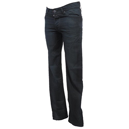 Teddy Runker rock ardesia jeans smith pantaloni jeans nero 32