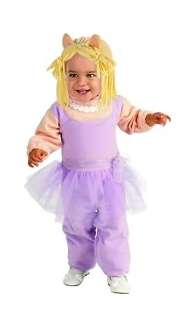 Muppets Miss Piggy Dress up Halloween Costume (Toddler 3t-4t)