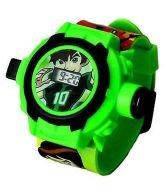 Catterpillar Digital Black & Green Dial Kids Projector Watch-ZL0524B