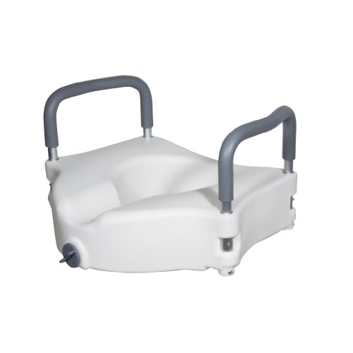 RTL12027RA - Drive Medical Elevated Raised Toilet Seat with