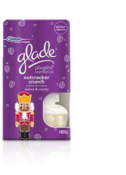 "Glade Winter Collection Plug Ins Scented Oil Warmer Refill ""Nutcracker Crunch"""