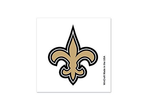 NFL New Orleans Saints 32938010 Tattoo (4 Pack) - 1