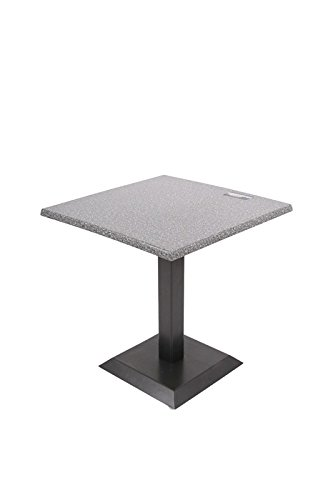 Dajar Stehtische Tisch Fresco 70 x 70 cm, grau