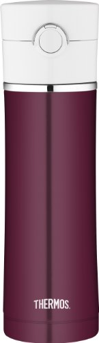 Thermos 16 Ounce Stainless Steel Vacuum Insulated Drink Bottle, Burgundy (Thermos Coffee Mugs compare prices)