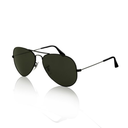 SWG-Aviator-Sunglasses-Matte-Black-Smokey-Lens-Sport-Edition-Slim-Fit-54mm
