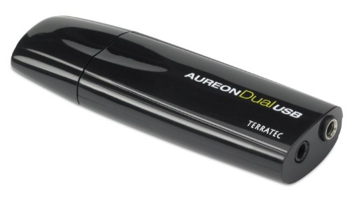 Terratec Aureon Dual USB Sound Card for PC and Notebook