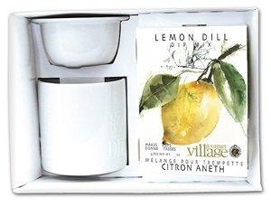 Gourmet Village Dip Chiller Gift Set - White