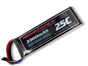 3300mAh 3S 11.1V G6 Pro Lite 25C LiPo