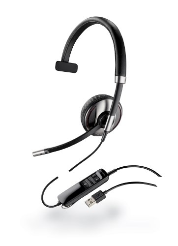 Plantronics Blackwire C710-M Wired Headset - Retail Packaging - Black