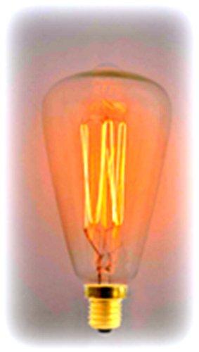 Heirlume Hl-0740Wpack1 Vintage Edison Bulb 40-Watt With Medium Base, 1.9-Inch X 5.1-Inch, 1-Pack