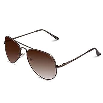 Laurels Aviator Mens Sunglasses (Ls-Eag-090909 58 Brown)