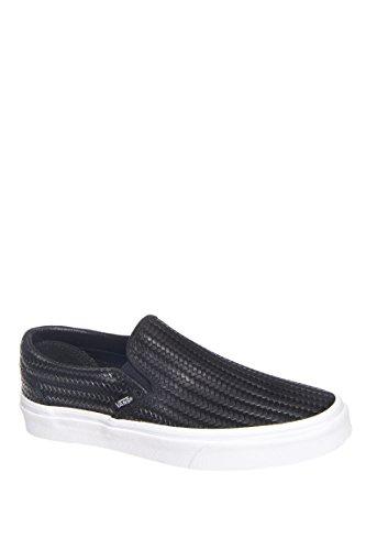 Classic Embossed Weave Slip-On Sneaker