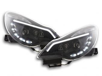 FK-Automotive fari Daylight con luci di marcia diurna Opel Corsa D anno di co...