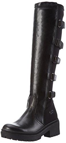 FornarinaIGGY - Stivali alti con imbottitura leggera Donna , Nero (Schwarz (0000)), 37