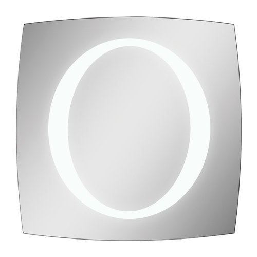 Ren-Wil Mt1140 Trent Lighted Led Wall Mount Mirror By Jonathan Wilner, 24 By 24-Inch back-562280