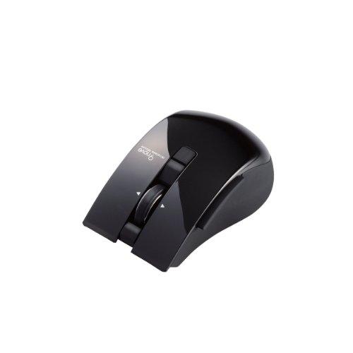 Elecom Bluetooth 3.0 Mouse M-NV1BRBK 5 button 9 IR switching Black EWM-I20 Import JPN