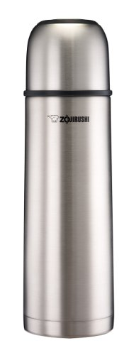 Zojirushi SV-GHE50 Tuff Slim Stainless Steel Vacuum Bottle, 17-Ounce (Zojirushi Stainless Steel Vacuum compare prices)