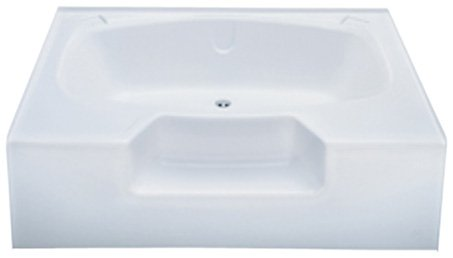 Best Buy! Kinro Composites ALM4054-SPK Almond 40X54 Outside Garden Tub