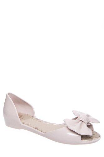 Mel Fresh Iv D'Orsay Jelly Flat Sandal