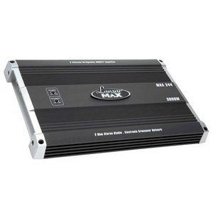 Lanzar Mxa244 3000 Watt 2 Channel Bridgeable Mosfet Amplifier