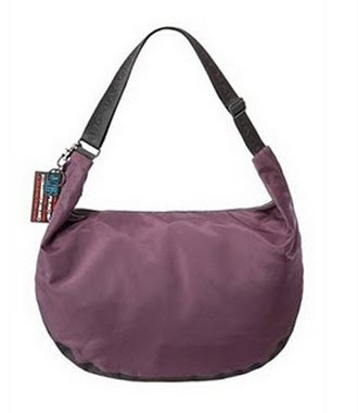 Marc By Marc Jacobs Marc by Marc Jacobs Nylon XL Newsboy Crossbody Duffle Bag Burgundy