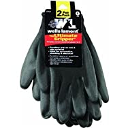 Wells Lamont559LNPolyurethane Coated Glove-ULTIMATE GRIP GLOVE 2-PK