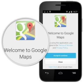 Navigate, search and connect with Google