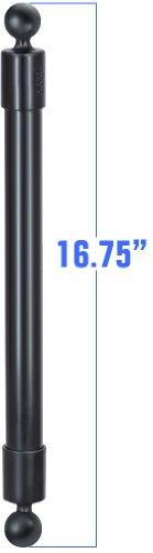 """RAM MOUNT 16.75"""" LONG EXT POLE W/ 1"""" DIAMETER BALL"""